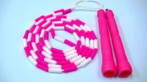 ビーズロープ<ピンク>